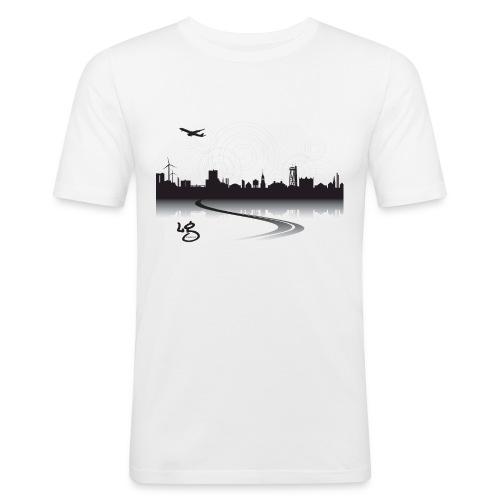Herre Slim Fit T-Shirt - Aalborg - Herre Slim Fit T-Shirt