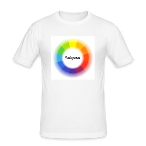 "Men Shirt - ""Colour Circle"" - Männer Slim Fit T-Shirt"