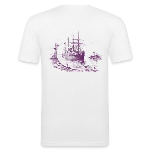 """T-shirt """"Voilier trois-mats"""" - T-shirt près du corps Homme"""