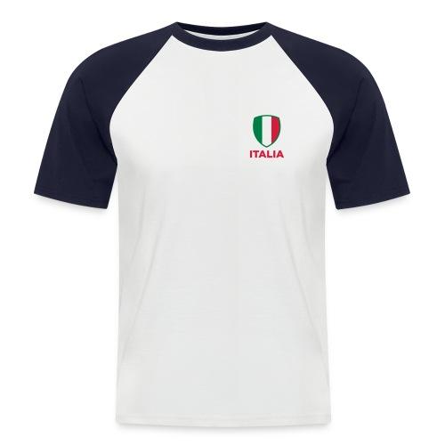 baseball-shirt manche courtes  italian style - T-shirt baseball manches courtes Homme