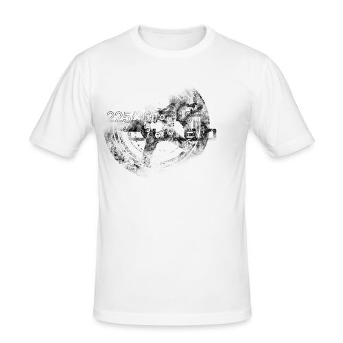 wheel - Männer Slim Fit T-Shirt