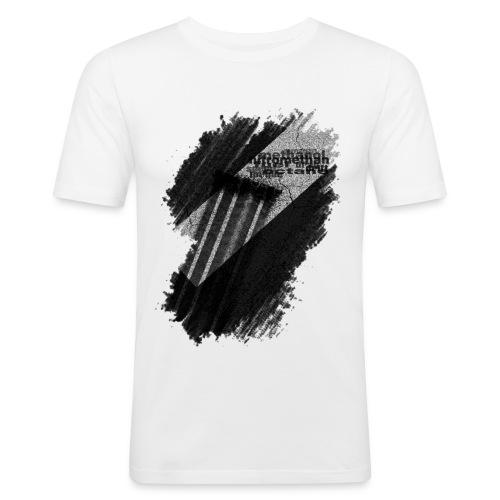 asphalt - Männer Slim Fit T-Shirt