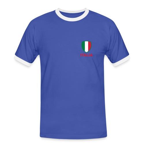 T-shirt contraste italian style - T-shirt contrasté Homme