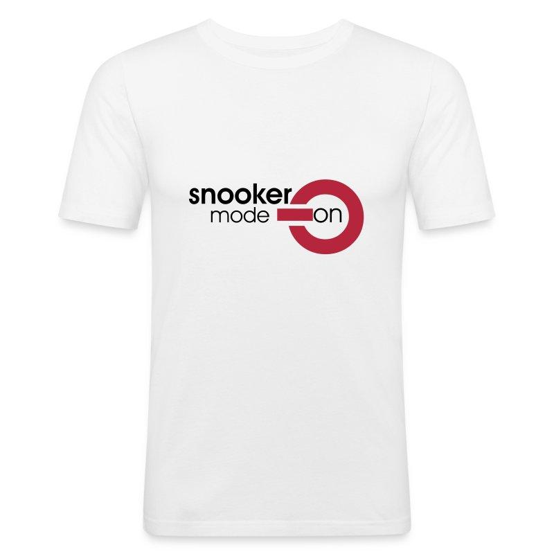 snooker mode on - Männer Slim Fit T-Shirt