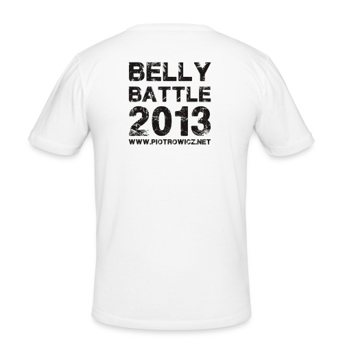Belly Battle 2013 - Männer Slim Fit T-Shirt