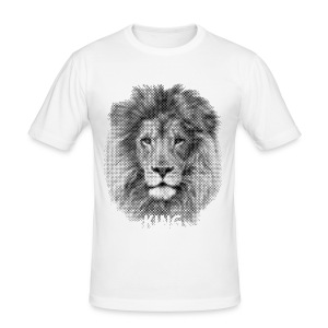 Lionking - Men's Slim Fit T-Shirt