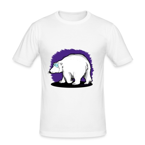 "Tier-Shirt ""Eisbär"" - Männer Slim Fit T-Shirt"