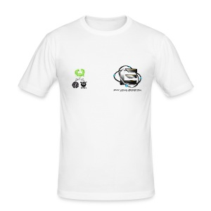 Classic Ft. Back, Sleeves & GT - Men's Slim Fit T-Shirt
