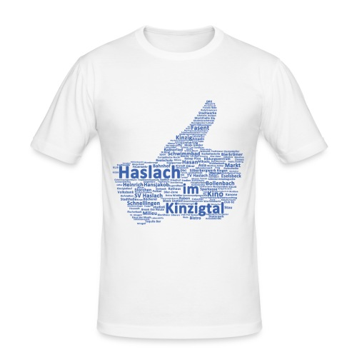 Haslach Like - Männer Slim Fit T-Shirt