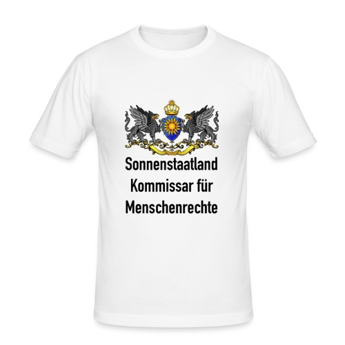 Kommissar Slim Fit Deluxe - Männer Slim Fit T-Shirt