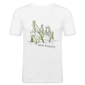 Nature in Progess - Men's Slim Fit T-Shirt