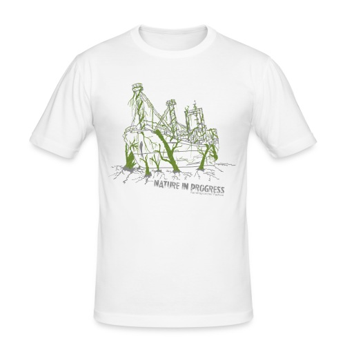 Nature in Progess - Men's Slim Fit T-Shirt
