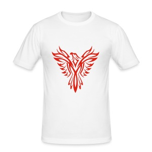 Giant Red Phoenix T-Shirt - Men's Slim Fit T-Shirt