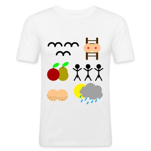 Rebus - slim fit T-shirt