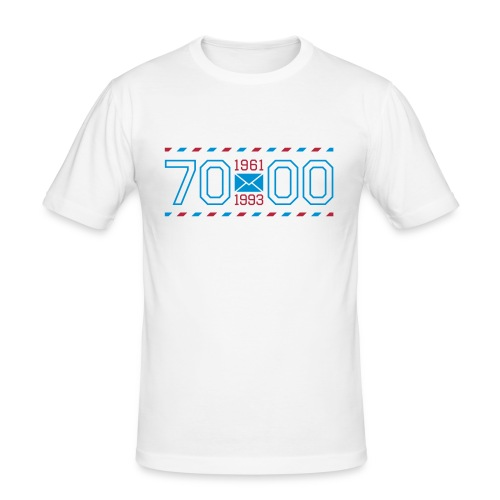 0711 AIRMAIL - Männer Slim Fit T-Shirt