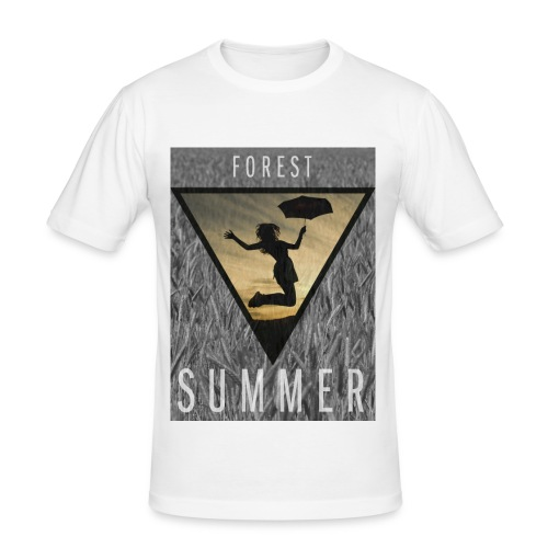 Forest Summer (m) - Männer Slim Fit T-Shirt