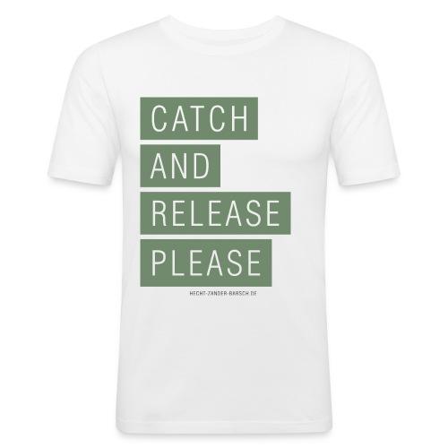 SLIM-SHIRT / C.A.R.P - Männer Slim Fit T-Shirt