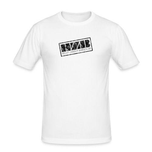 SLIM-SHIRT / STAMP - Männer Slim Fit T-Shirt
