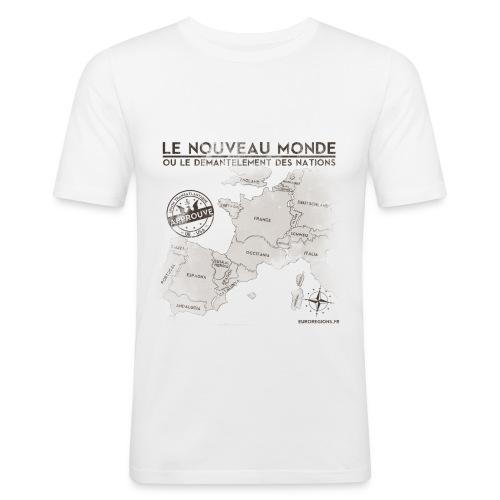 T-SHIRT homme près du corps eurorégions - T-shirt près du corps Homme