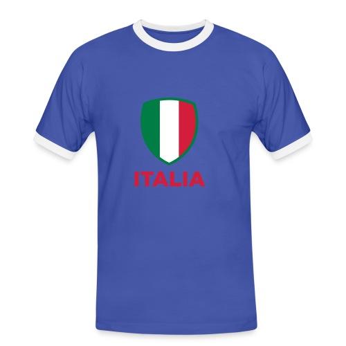 T-SHIRT BANDIERA ITALIAN STYLE - T-shirt contrasté Homme