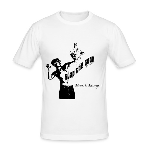 Slap the goon - Men's Slim Fit T-Shirt