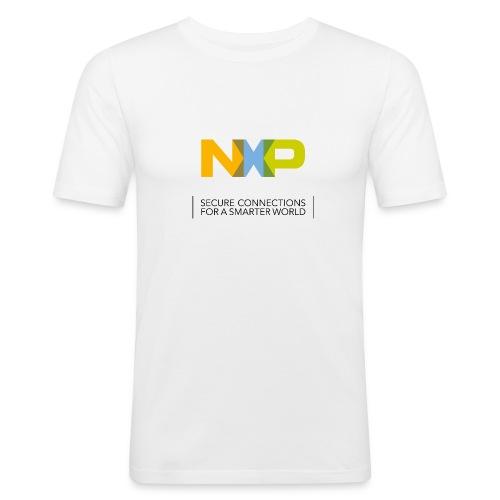 Männer Shirt 'Secure Connections' - Männer Slim Fit T-Shirt
