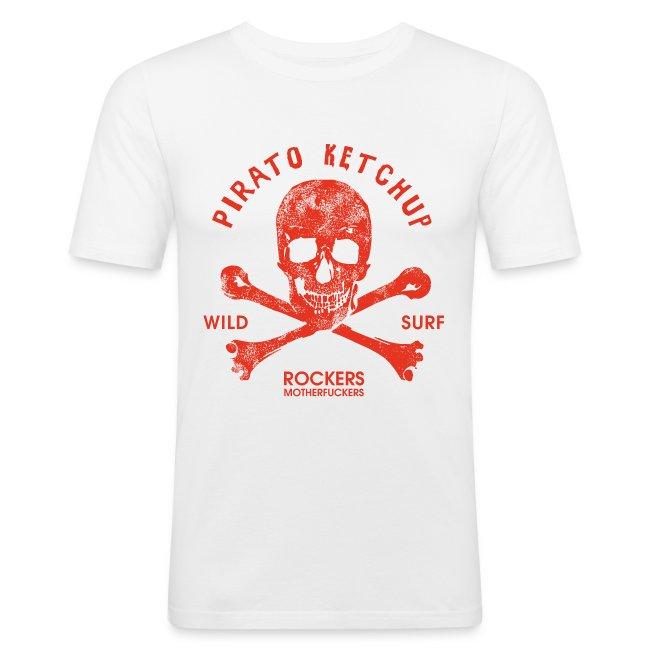"Pirato Ketchup ""Red Skull"" (men T shirt)"