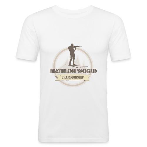 Lifestyle Shirt Slim Fit - Männer Slim Fit T-Shirt