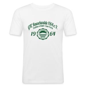 Männer 1964  - Shirt SLIM Weiß - Männer Slim Fit T-Shirt