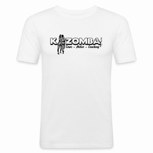 Tee-shirt kizomba coach Homme pres du corps - T-shirt près du corps Homme