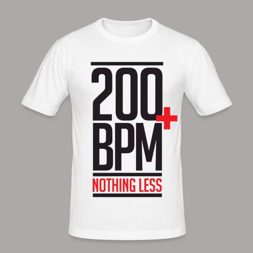 200 BPM NOTHING LESS / T-SHIRT SLIMFIT MEN #2 - slim fit T-shirt