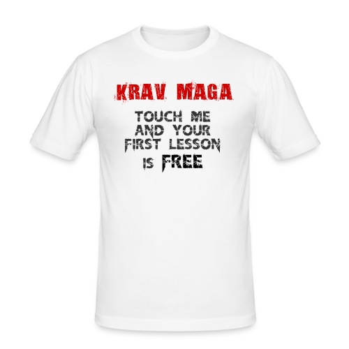 Krav Maga First Lesson Free - T-shirt près du corps Homme