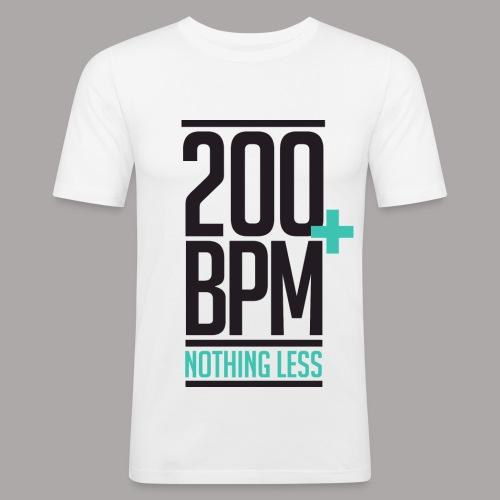 200 BPM NOTHING LESS / T-SHIRT SLIMFIT MEN #1 - slim fit T-shirt