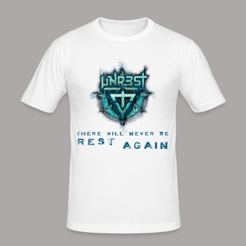 UNREST - NEVER BE REST AGAIN / T-SHIRT SLIMFIT MEN #5 - slim fit T-shirt