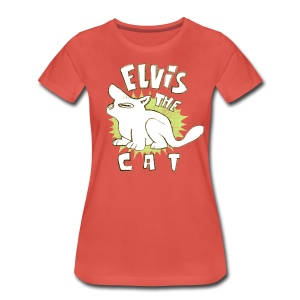 elvis the cat - Women's Premium T-Shirt