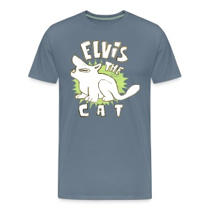 elvis the cat - Men's Premium T-Shirt