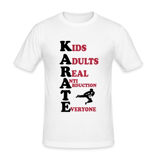 K.A.R.A.T.E - Men's Slim Fit T-Shirt