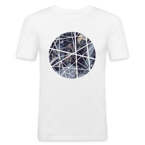Marble - Obcisła koszulka męska