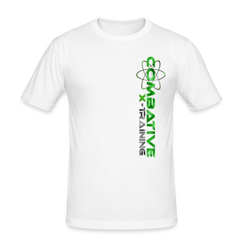 WhiteGreen - Männer Slim Fit T-Shirt