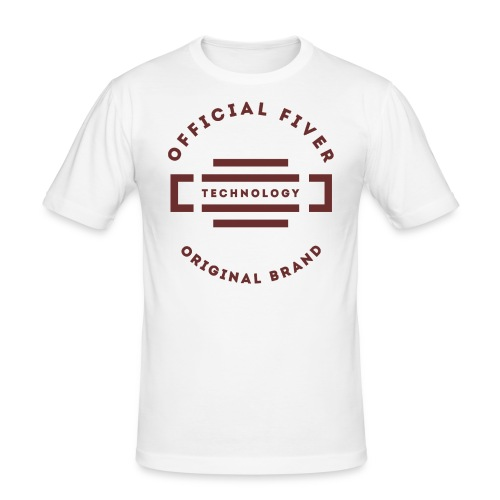Fiver Originals - Premium Graphic Tee - Men's Slim Fit T-Shirt