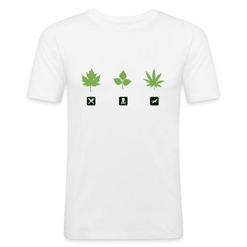Weed Shirt Men - Männer Slim Fit T-Shirt