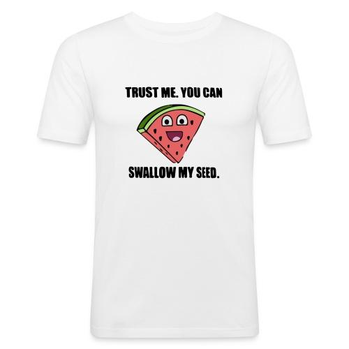 Melon Shirt - Männer Slim Fit T-Shirt
