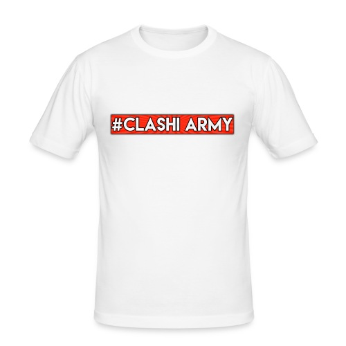 #Clashi Army - Slim Fit T-Shirt - Männer Slim Fit T-Shirt