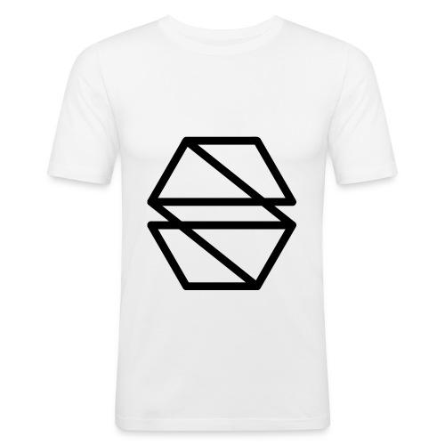 Chest Print Tee - Men's Slim Fit T-Shirt