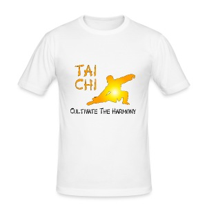 Tai Chi - Cultivate The Harmony T-Shirts - Men's Slim Fit T-Shirt