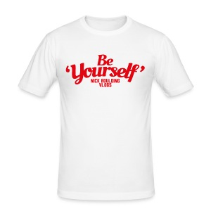 Be Yourself T-Shirt - Men's Slim Fit T-Shirt