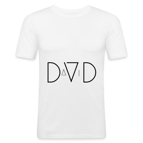 DaViD - Männer Slim Fit T-Shirt