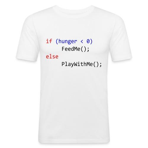 FeedMe TShirt - Men's Slim Fit T-Shirt