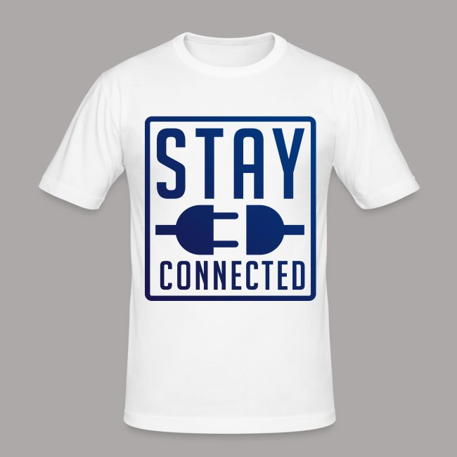 STAY CONNECTED / T-SHIRT SLIMFIT MEN #2