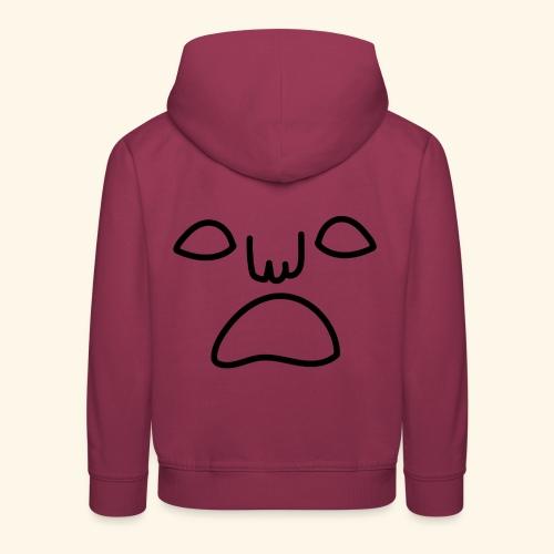 noface kid-hoodie - Premium-Luvtröja barn
